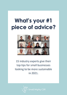 Document cover of #1 piece of advice ebook